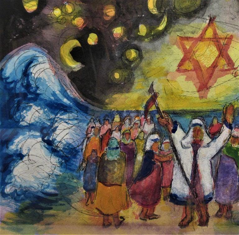 Exodus - American Impressionist Art by Arnold A. Grossman