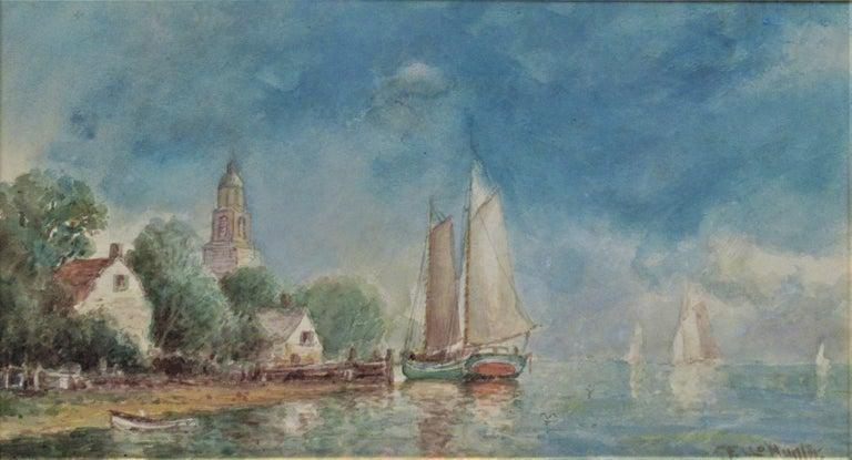 Harbor Village - Art by Frederick Leo Hunter