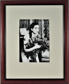 Untitled, Woman with Flowers