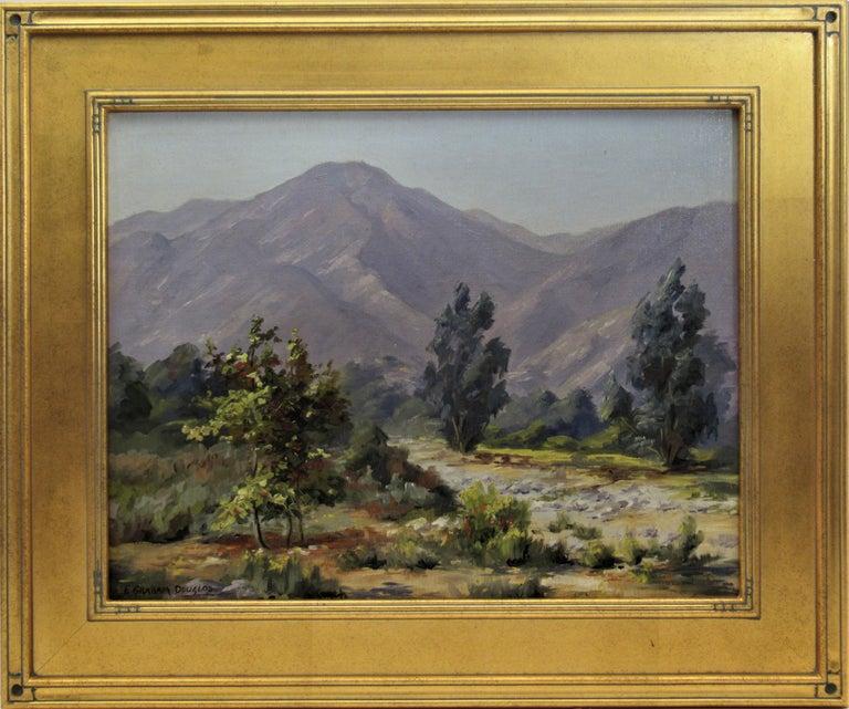 Earl Graham Douglas Figurative Painting - Misty Day
