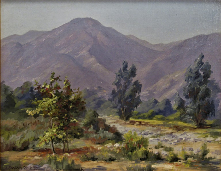 Misty Day - Painting by Earl Graham Douglas