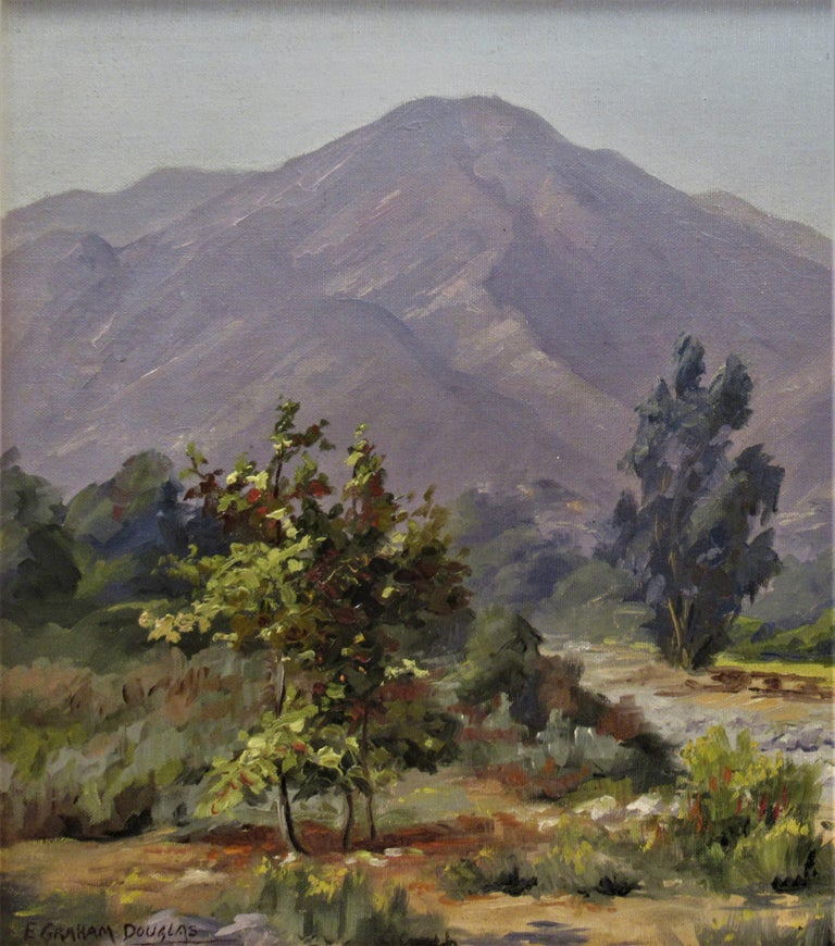 Misty Day - American Impressionist Painting by Earl Graham Douglas