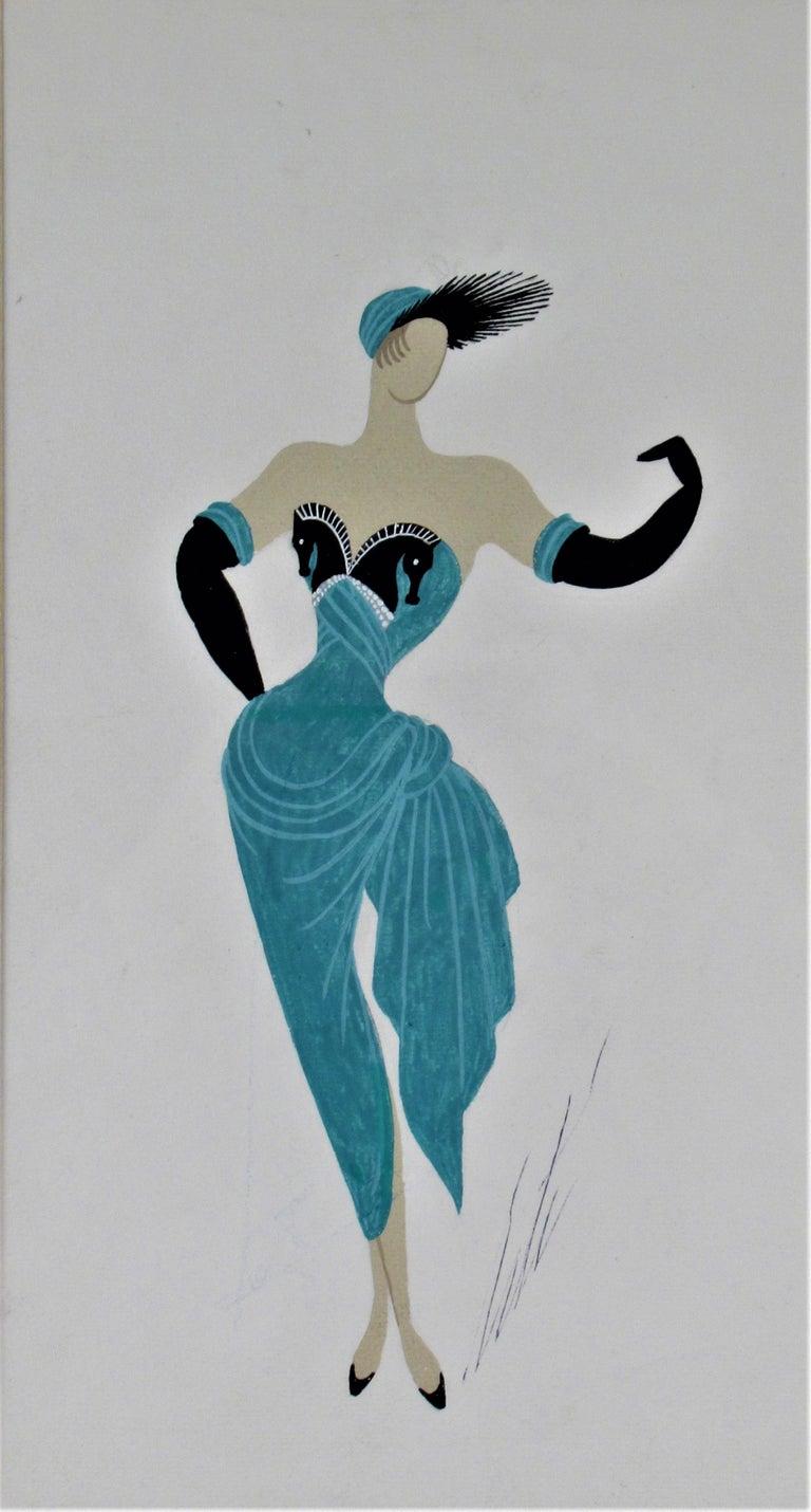 La Chanteuse - Art by Erte (Romain de Tirtoff)