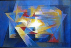 Abstract Painting - Argentinian III