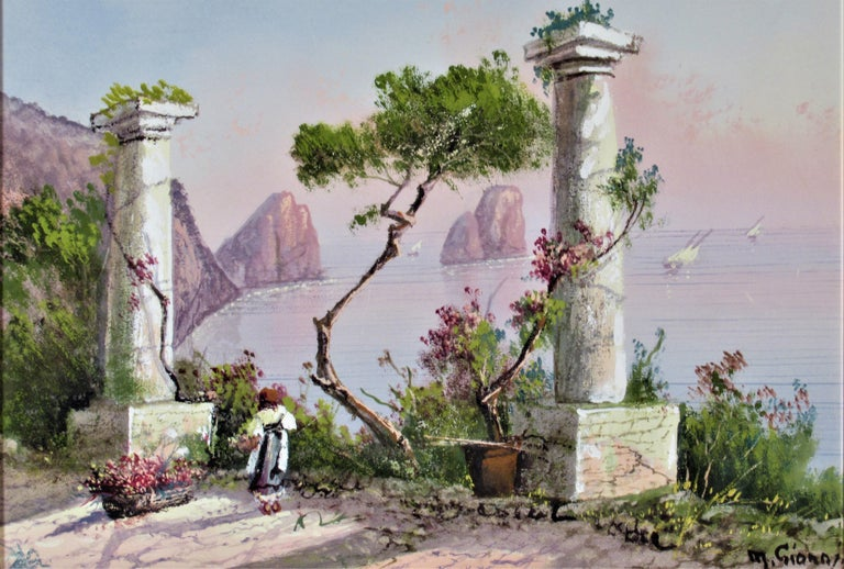 View of the Bay of Naples - Art by Maria Ada Gianni