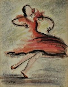 La Danseuse Espagnol Rosita Segovia ( The Spanish Dancer Rosita Segovia)
