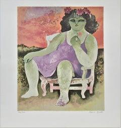 Girl on an Armchair