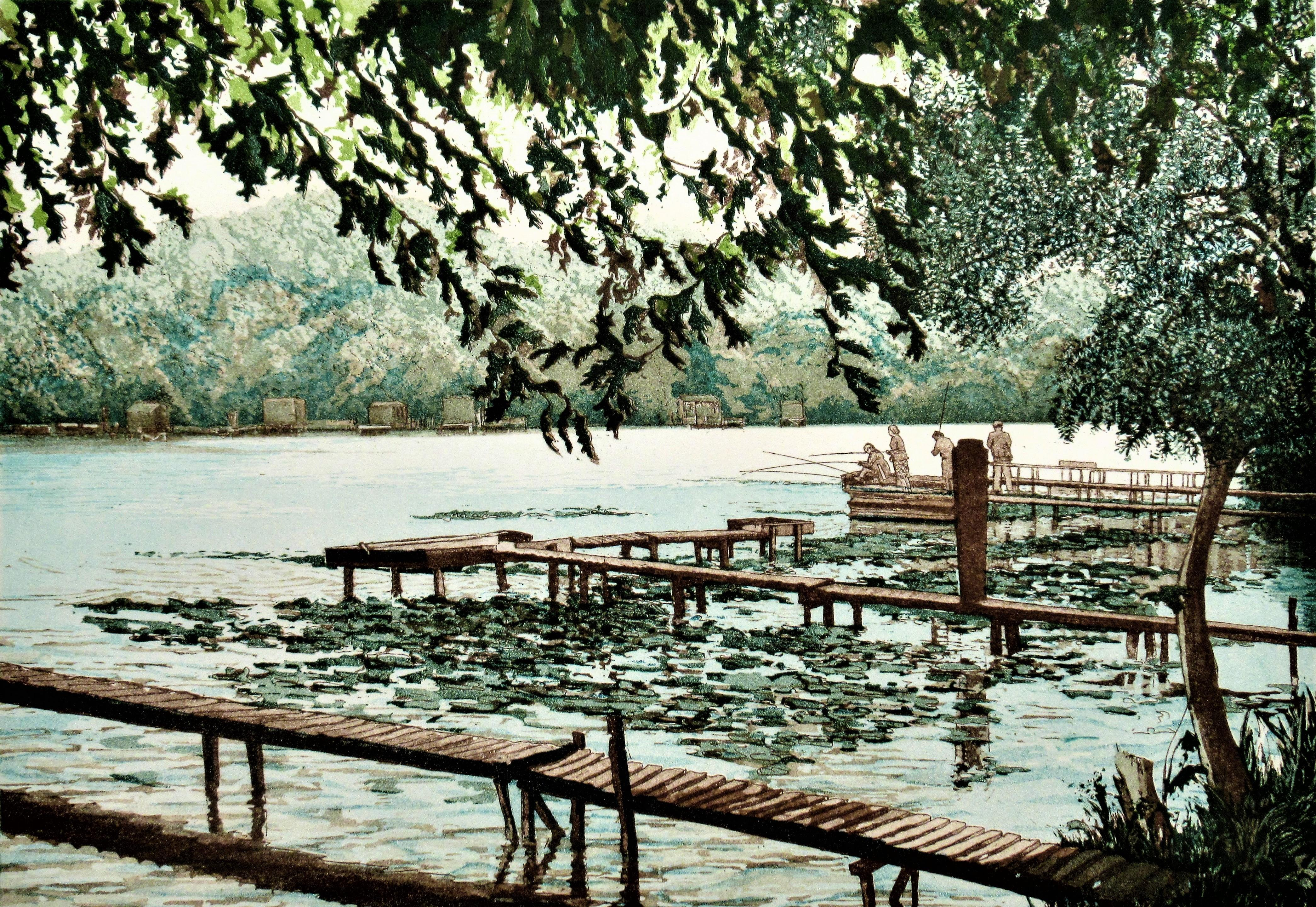 Lake at Carcaron II