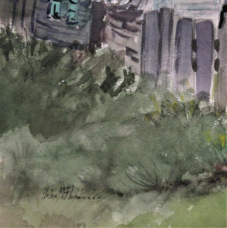 Early Spring - Gray Figurative Art by Helen Florenzen
