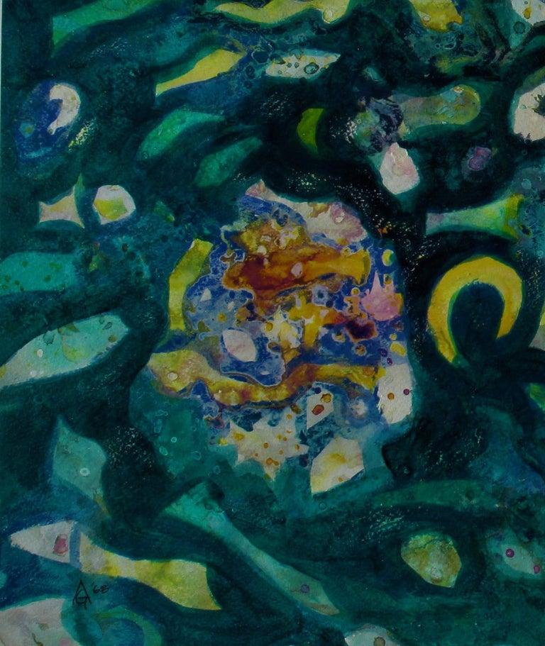 La Mer - American Modern Painting by Arnold A. Grossman