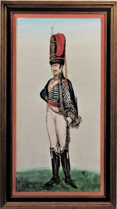 Hussard du Premier Empire, Paris