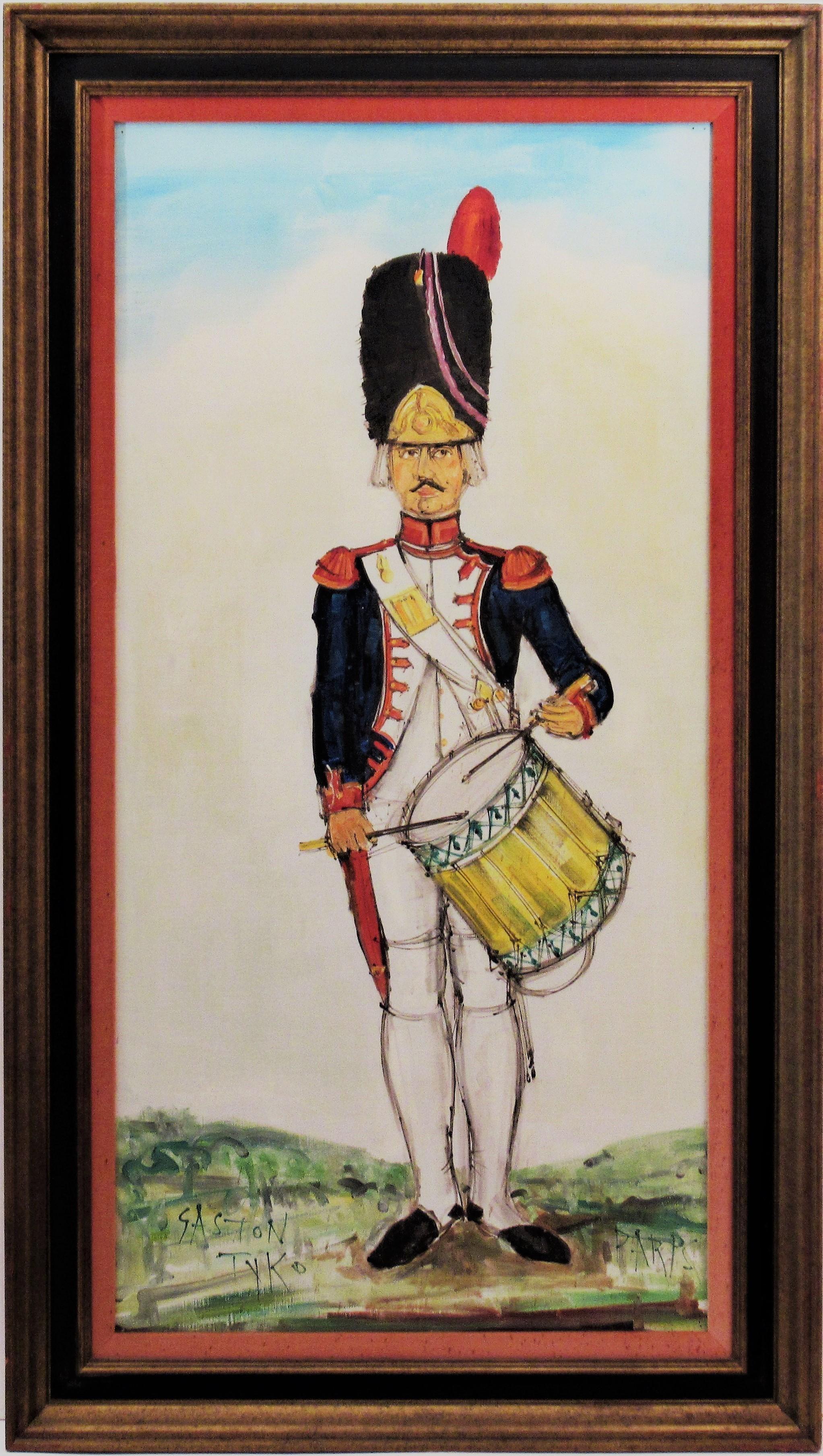 Tambour Grognard du Premier Empire, Paris