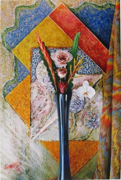 Rose Orchid Bromeliad