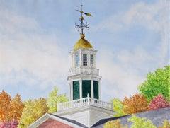 Griffin Hall, Williams College, Autumn