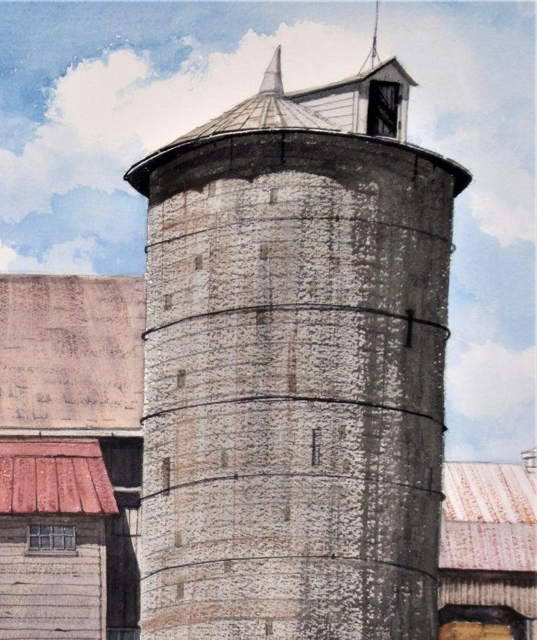 Earl Scwaiger's Barn - American Impressionist Art by W. Ralph Murray