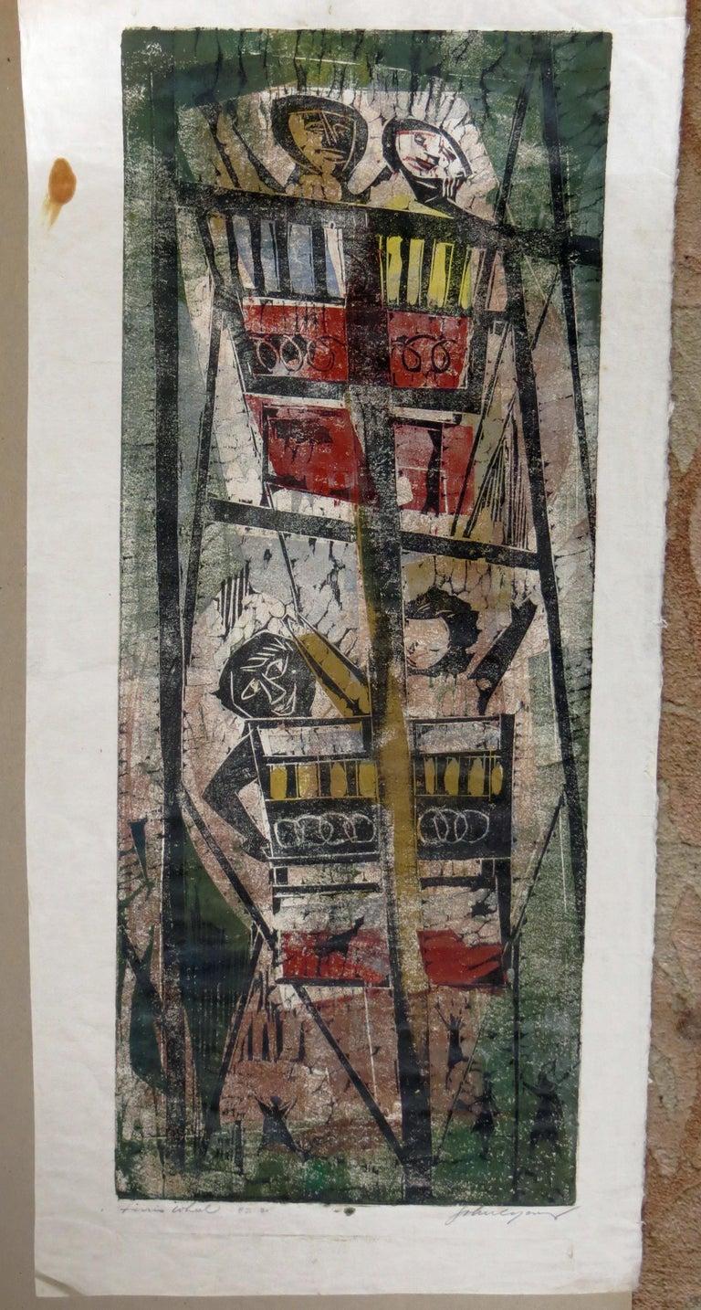 Ferris Wheel - Print by John Chin Young