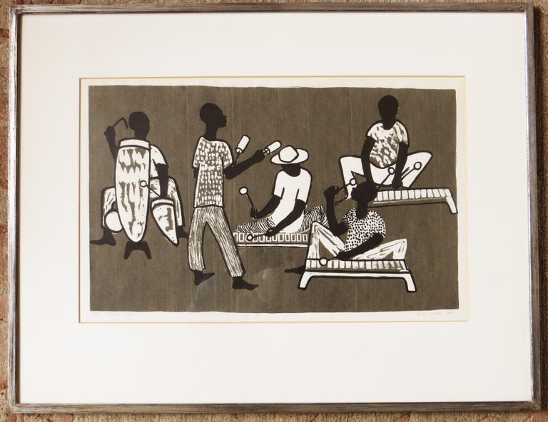 Tanu Yajenga Nchi - Modern Print by Jessie Wilber