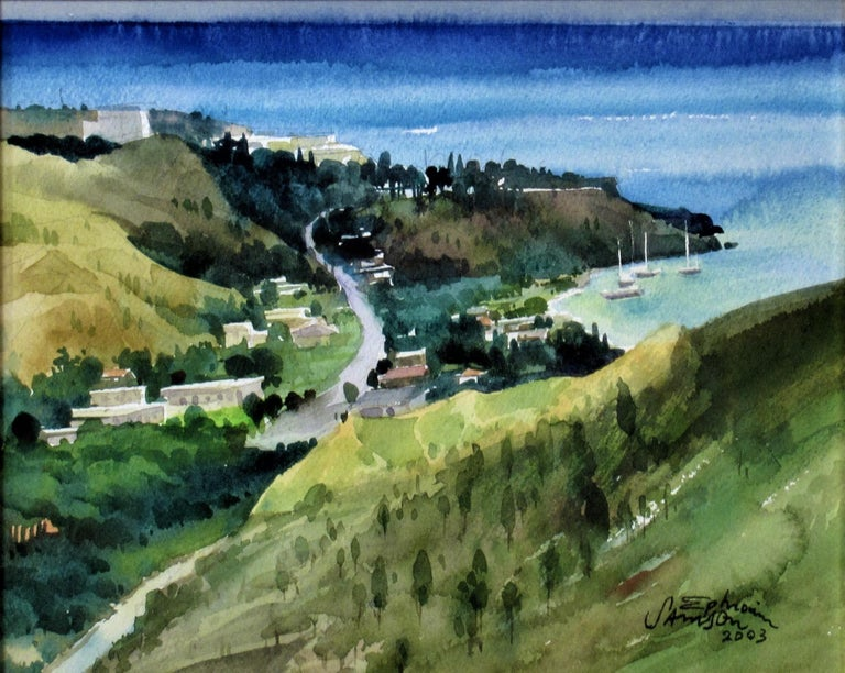Overlooking the Bay - Art by Ephraim Samson