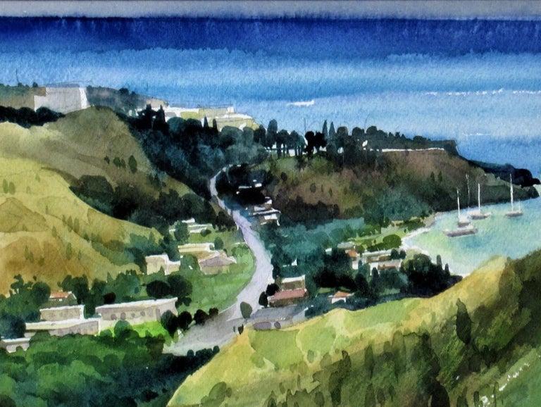 Overlooking the Bay - Realist Art by Ephraim Samson