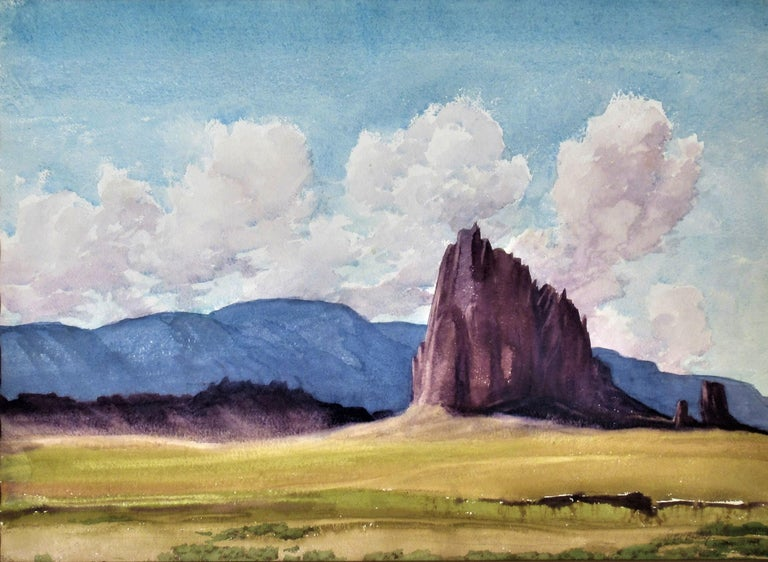 Shiprock (New Mexico) - Art by Roger Bailey