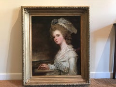 A Very pretty portrait of Mary Emmott (1746-1829)