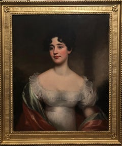 Beautiful Regency 19th Century Portrait of a Lady