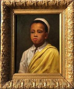 19th Century Portrait Painting of Samuel Coleridge-Taylor, 'The Black Mahler'
