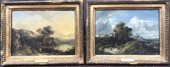A Beautiful Pair of Early 19th Century Landscapes