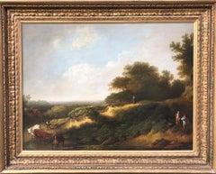Beautiful 18th Century Landscape 'The Lost Ferret'