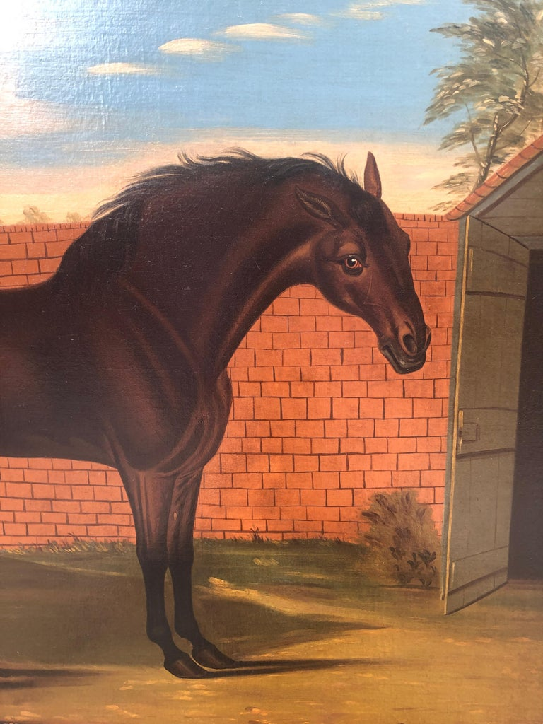 The Godolphin Arabian an 18th Century Masterpiece  - Painting by Daniel Quigley