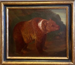 Early 18th Century Painting of a Bear