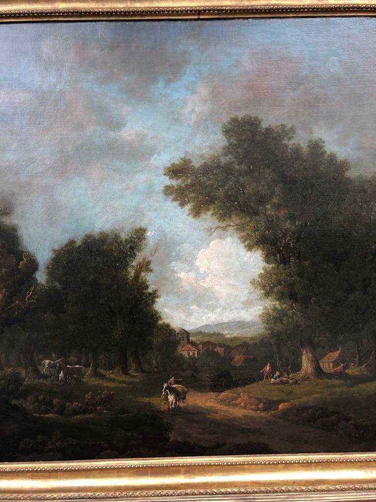 Bucolic 18th Century Landscape by Irish Painter George Barret Sr. For Sale 1