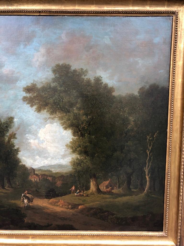 Bucolic 18th Century Landscape by Irish Painter George Barret Sr. For Sale 2