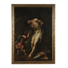 Giuseppe Antonio Pianca Saint Sebastian Oil on Canvas 18th Century