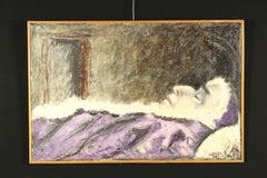 Davide Orler Pius XII Miserere mei Deus Oil Painting 1958