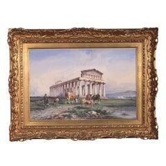 Consalvo Carelli, Watercolor on Paper, 19th Century