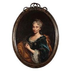 Portrait of a Noblewoman by Il Mulinaretto 18th Century