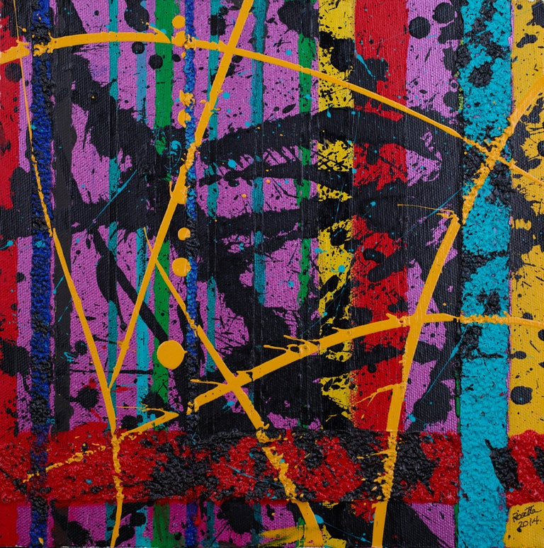 Rosetta DeBerardinis Abstract Painting - Passages: One