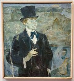 Portrait of Sergei Esenin Ryazanschina