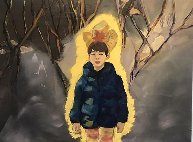 Kyunglee Kim Figurative Painting - Nightnare