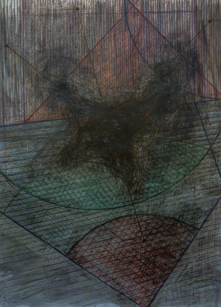 Zsolt Berszán Abstract Drawing - Untitled 05