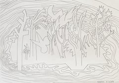 Island for Umberto 01 - 21st Century, Drawing, Nature, Butterfly, Summer