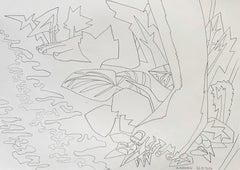 Island for Umberto 06 - 21st Century, Drawing, Nature, Summer