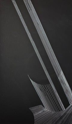 G_19 - 21st Century, Drawing, Contemporary, Black, White, Minimalist, Abstract
