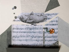 The Music Box - 21st Century, Singing Fish, Funny, Contemporary Art