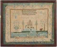 Needlework sampler