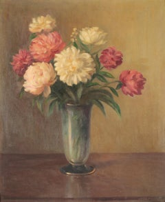 Still Life Vase of Flowers