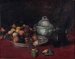 Fruit and Porcelain