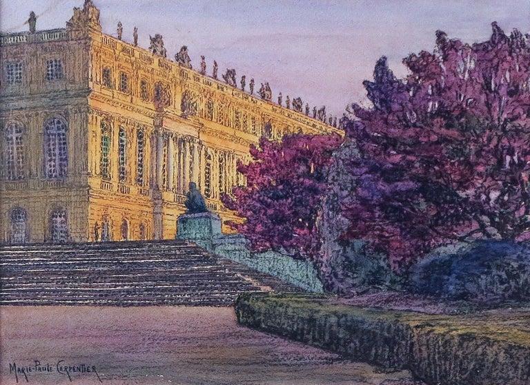 Marie-Paule Carpentier  Landscape Art - Versailles