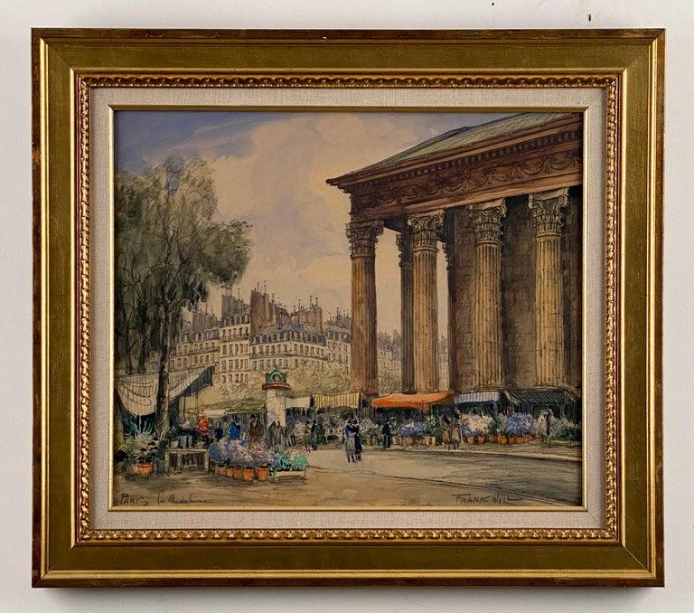 Frank Will Landscape Art - Place de la Madeleine